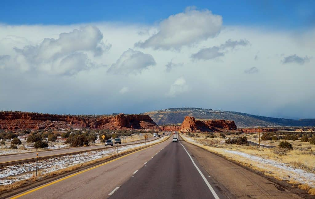 Rhode Island to New Mexico