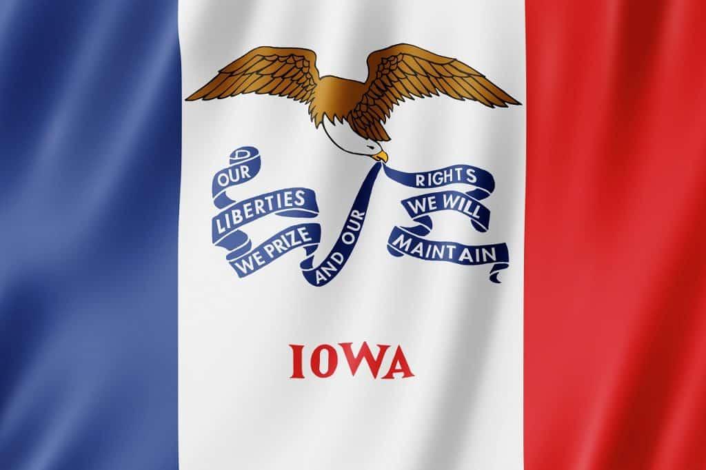 Texas to Iowa