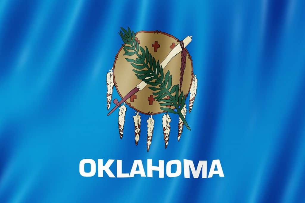 Utah to Oklahoma